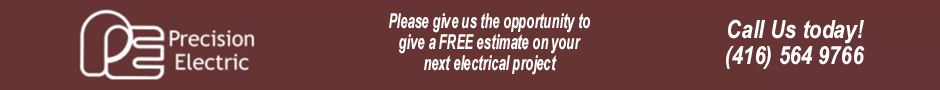 About Precision Electric in the Niagara Region